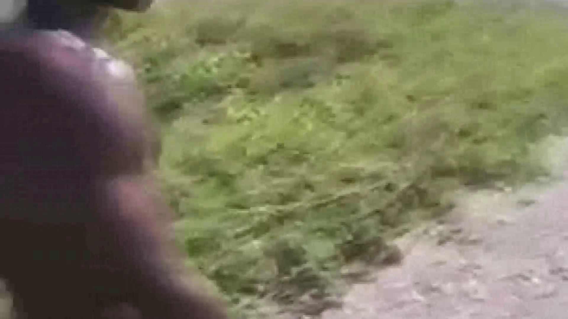 野生児 黒人のオナニー ノンケのオナニー  9枚 8