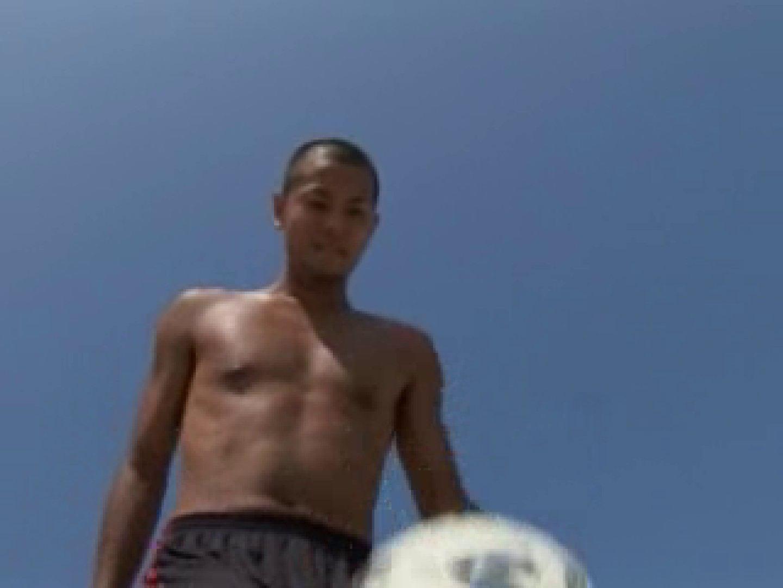 すっきり坊主のサッカー青年のイメージ撮影 イメージ | エロ  12枚 7