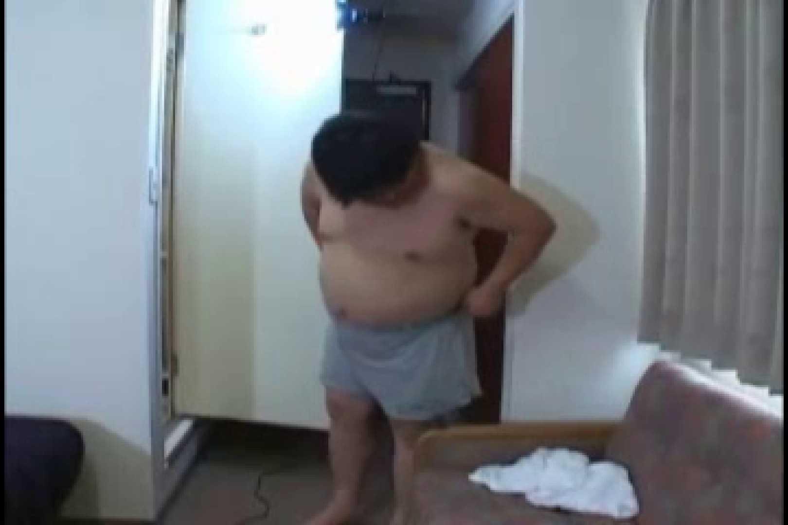 オデブなメガネ君のオナ&アナル攻め! デブ ゲイSEX画像 9枚 5