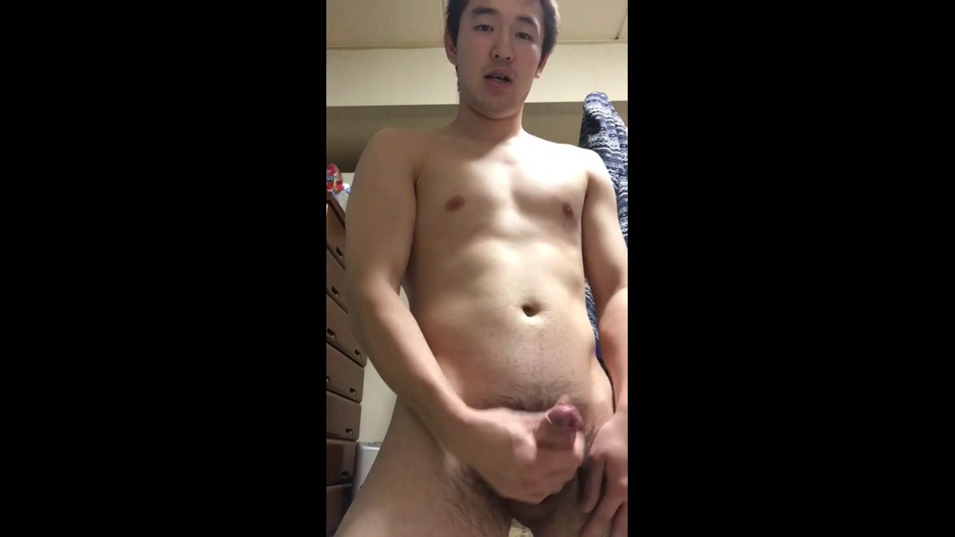 ゲイエロ動画|お願いっ!僕のオナニー見て下さい♪Vol.30|手コキ