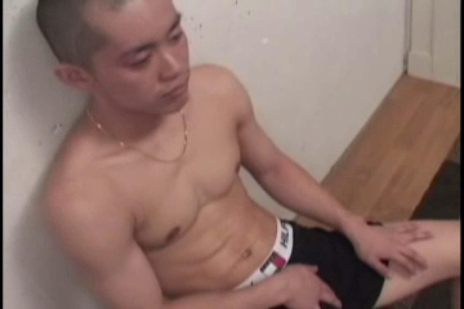 スリ筋!!スポメンのDANKON最高!!take.02 ローション   射精シーン  9枚 1